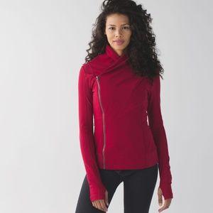 Lululemon Bhakti Yoga Jacket Cranberry
